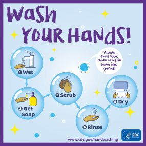 CDC Wash Your Hands!